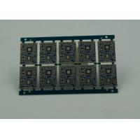 Buy cheap Blue IC BGA HDI Printed Circuit Board 8 Layer PCB Board Making Custom product