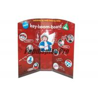 Buy cheap Early Learning Musical Instruments Custom Standee Cardboard Point Of Sale Display Stands product