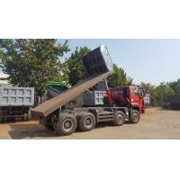 Buy cheap 8×4 Heavy Duty Dump Truck / Sinotruk Howo Dump Truck For Flatbed And Hyva Lifting product