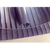 Strong Welding Wedge Wire Screen Panels Non - Clogging High Flow Rates