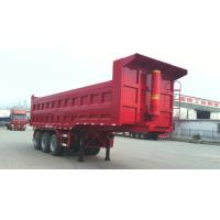 Buy cheap 40T-100T 2 Axles or 3 axles heavy load dump tipping semi trailer truck ,  dump tractor trailer product
