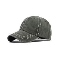 Buy cheap SGS 56cm Embroidered Baseball Caps Six Panels Plastic Buckle product