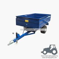 Buy cheap 1TR2W tractor trailer 1.0Ton Loading capacity,farm Hydraulic dump trailer with CE product