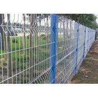 Buy cheap Anti Climb Garden Mesh Fencing Green Wire Panel For Public Grounds product