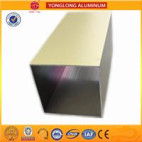 Buy cheap Environmental Powder Coated Aluminium Extrusions Acid and Alkali Resistance product
