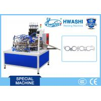 Buy cheap Motor Spacer Automatic Spot Welding Machine With Automatic Rotary Platform product