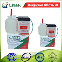 China 6N4-2A-6 motorcycle battery DRY CHARGE lead acid battery 6V4AH on sale