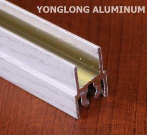Buy cheap White Wardrobe Aluminium Profile For Cabinets Rectangular Shape product