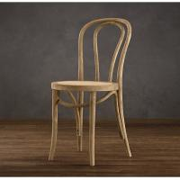Buy cheap High End Solid Oak Wood Kitchen Leather Dining Chair Modern With High Back product