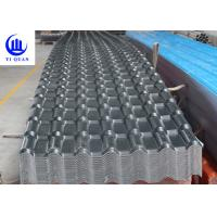 Buy cheap Synthetic Resin Pvc Sheet For Roofing Corrugated Or Trapezoidal Double Roman Roof Tiles product