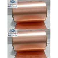 Buy cheap 35 um double shiny  high-precision ra copper foil with high content Cu product