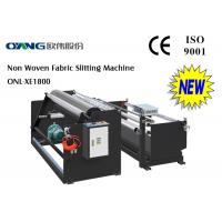 Buy cheap Industrial Paper Slitter Rewinder Machine Non Woven Fabric Slitting Machine from wholesalers