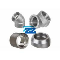 Buy cheap 1 / 8 - 4 Inch Socket Weld Pipe Fittings Carbon Steel Material GB / T Standard product