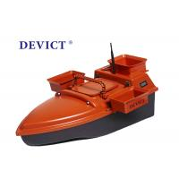 Buy cheap Orange remote control bait fishing boat DEVC-202 350M 3-4 Class Wave Resistance product