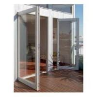 Buy cheap Commercial Aluminum Hinges Swing Door Surface Finished Sound Insulation from wholesalers