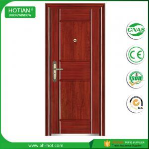 Buy cheap single house main gate door designs high security door price steel entry door product