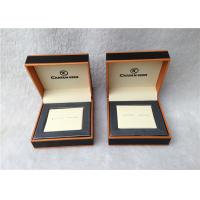 China Cardboard Cufflink Gift Boxes , Cufflink Display Case Personalised wholesale