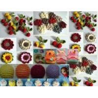 Quality Handmade Knited Flower for sale