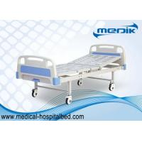 China Removable Single Manual Crank Sick Bed For Clinic Examination wholesale