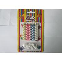 China Paraffin Magic Relighting Birthday Candles Multi Colored For Party Decoration wholesale