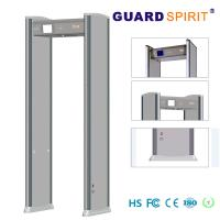 Buy cheap Multi Zone Led Light Bars Archway Metal Detector , Super Scanner Walk Through Safety Gate product
