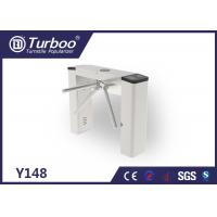 Buy cheap Slim Tripod Turnstile Security Access Gates Achieve Access Attendance , Fees Function product