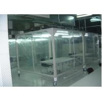Buy cheap Power Coated Steel Softwall Cleanroom Pharmaceutical , Vertical Laminar Air Flow Chamber product