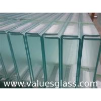 Buy cheap Thermal Insulated U Glass , Low Iron Glass For Exterior Glass Wall Decoration product