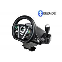 Buy cheap Bluetooth Wireless Video Game Steering Wheel Built In Lithium Battery product