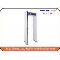 Buy cheap 6 Zones High sensitivity Walk Through Metal Detector Sound alarm 50 / 60HZ product