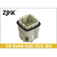 Buy cheap Screw Heavy Duty 4 Pin Connectors , Male and Female Connectors Square connector product