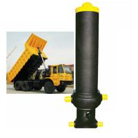 Buy cheap Custom Single Acting Hydraulic Cylinder Stage Telescopic Lifting Dumper Tipper product