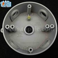"""Buy cheap 4"""" Die Cast Aluminum Round Weatherproof Electrical Outlet Boxes / Extension Rings product"""