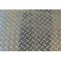 Buy cheap Thickness Coated Aluminum Checkered Sheet , Roll Embossed Aluminum Plate For Insigns product