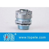 Buy cheap Liquid Tight Straight Connector Zinc Flexible Conduit And Fittings product