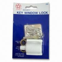 Buy cheap Zinc Alloy Key Window Lock, Suitable for Aluminum and Wooden Windows product