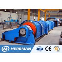 Buy cheap Horizontal Tubular Cable Stranding Machine Independent Drive Method 1200rpm Speed product