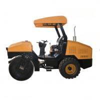 High Performance Road Roller Machine With 12 Km/H Travel Speed