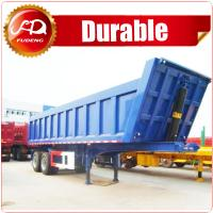 China Best price semi trailer enclosed semi trailer dump truck trailer for sale in dubai on sale