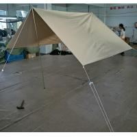 Buy cheap White Outdoor Canvas Tent / Waterproof Teepee Bell Tent For Family Anti-UV product