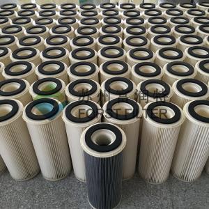 Buy cheap Fabricant industriel de cartouche de cylindre de filtre à air de Hepa de médias de polyester de FORST product