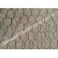 China Iron / stainless steel hexagonal wire netting for protecting mesh fence , Length Customized wholesale