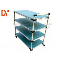 Buy cheap Hand Pushed Tote Cart Cold Welded Aluminium Profile Spray Coating Long Service Life product