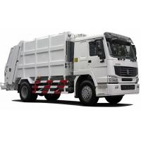 Buy cheap International Back Loader Garbage Truck / Compactor Garbage Collection Vehicles product