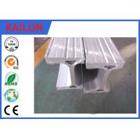Buy cheap Silver Anodizing Aluminum I Beam Profiles for Construction Building Materials / Textile Machinery Parts product