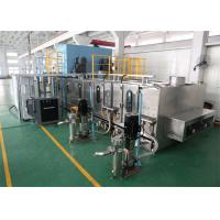 Buy cheap Bus Curved Glass Cleaning Equipment Bend Glass Washer Machine product