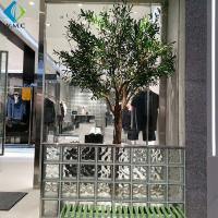 Buy cheap Durable Faux Olive Plant , Artificial Olive Green Tree For Shop Window Decorate product