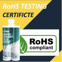 Buy cheap antibacterial Exterior Tile Adhesive And Grout CE RoHs Testing Certificates product