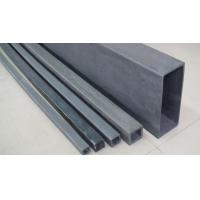 Buy cheap Black Sintered Silicon Carbide Ceramic High Shock Resistance Anti - Oxidization product