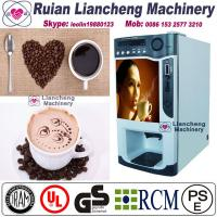 Buy cheap nescafe coffee vending machine price  Bimetallic raw material 3/1 microcomputer Automatic Drip coin operated instant product